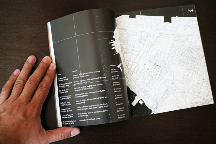 Index of collaboration project with Lebbeus Woods: GROUND book. Unfolded Blue Extension Off CHASE HQ Building. Publication by Lebbeus Woods and Guy Lafranchi. Ed. Springer-Verlag, New York, USA.
