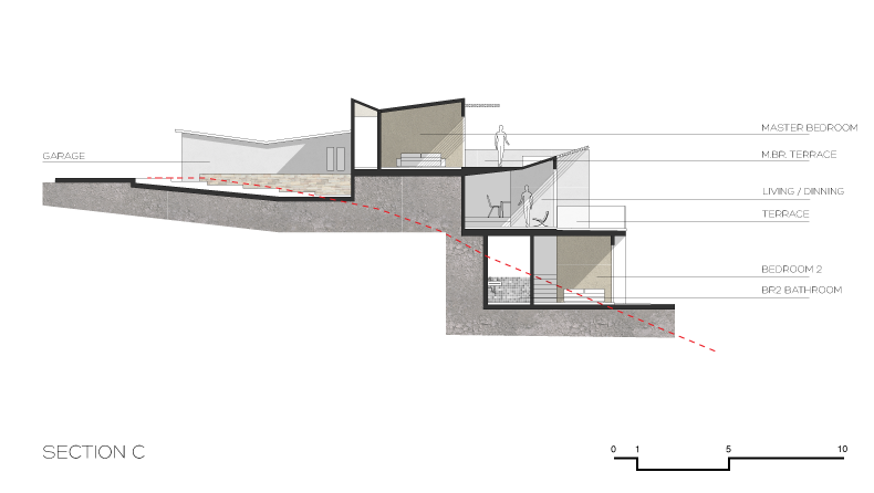 El_Rincon_Pedregal_Cabo_San_Lucas_Architect_Architecture_a10studio_Section_01