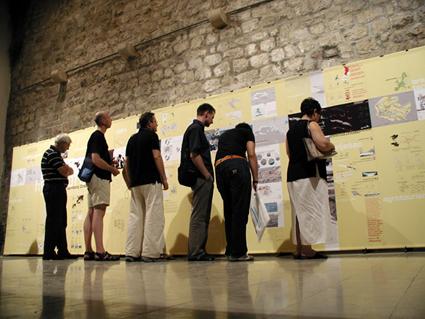 Public at Dubrovnik exhibition of HyperEurope: Croatia + Slovenia emerging territories. architecture and urbanism a10studio 03